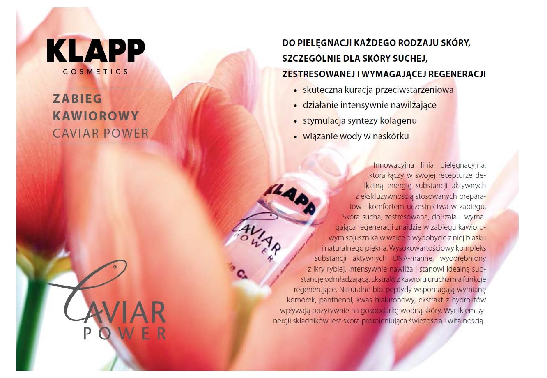 Caviar Power - zabieg kawiorowy Łódź